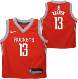 Toddler Boys' Houston Rockets James Harden 13 Icon Replica Jersey