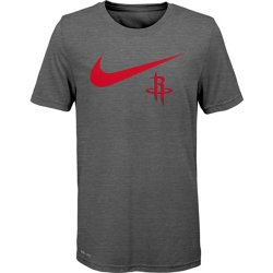 Boys' Houston Rockets Dri-FIT Swoosh Logo T-shirt