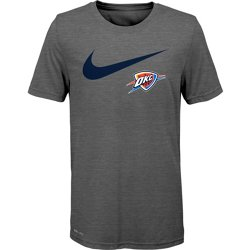 Boys' Oklahoma City Thunder Dri-FIT Swoosh Logo T-shirt