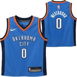 Boys' Oklahoma City Thunder Russell Westbrook 0 Icon Replica Jersey