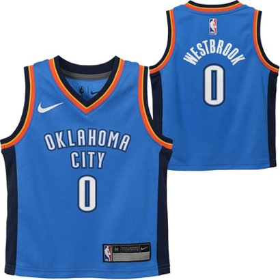 ... Nike Boys  Oklahoma City Thunder Russell Westbrook 0 Icon Replica Jersey.  Oklahoma City Thunder Clothing. Hover Click to enlarge ad855f99b