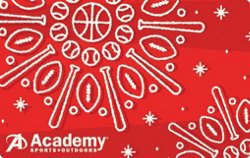 Holiday Sports Snowflake Academy Gift Card