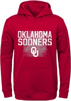 NCAA Boys' University of Oklahoma Attitude Perf Hoodie