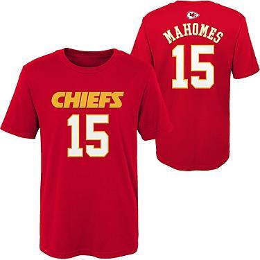 online store fd7b5 3e38a NFL Boys' Kansas City Chiefs Patrick Mahomes 15 Mainliner T-shirt