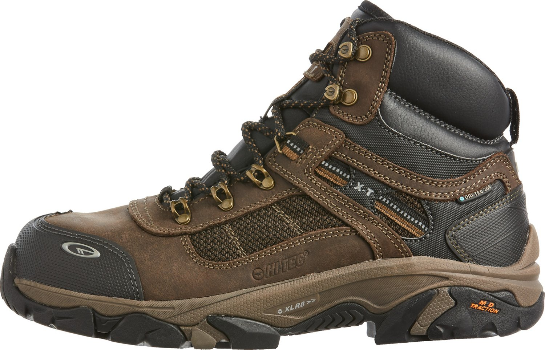 7166ce91cad Hi-Tec Men's X-T Carbon Elite Mid WP360 Composite Toe Work Boots ...