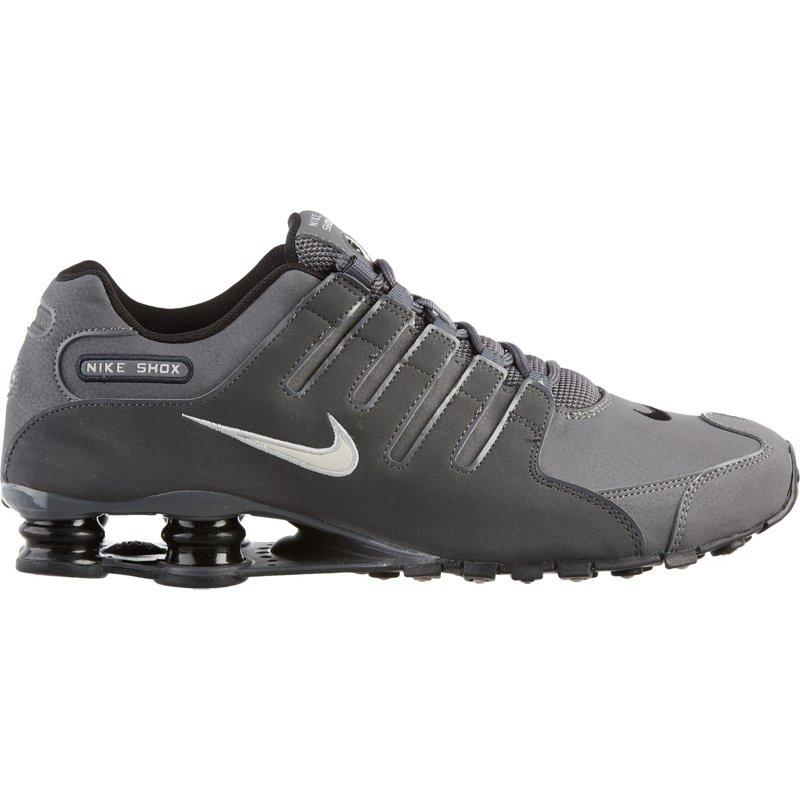 best sneakers d9daa 47d5b Nike Men s Shox NZ Running Shoes Dark Grey Metallic Iron Ore Anthracite,  10.5