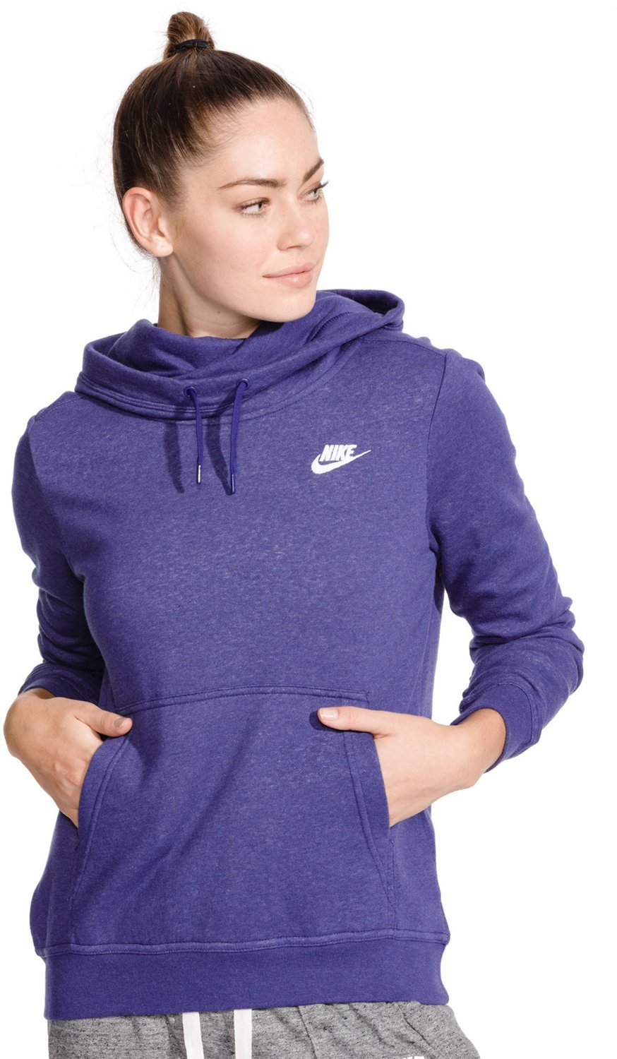 87379aa040 Display product reviews for Nike Women s Sportswear Funnel Neck Hoodie