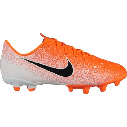 c732e7b9c8bc ... Nike Kids' Mercurial Vapor XII Academy Multi-Ground Soccer Cleats.  Boys' Soccer Cleats. Hover/Click to enlarge