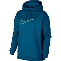 Deals on Nike Womens Therma Swoosh Fleece Training Hoodie