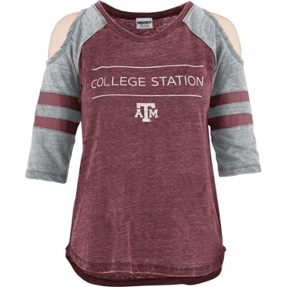 e1948a05b71 Three Square Women s Texas A M University Eva Vintage Wash Cold ...