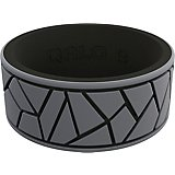 QALO Men's Strata Dale and Amy Silicone Wedding Ring