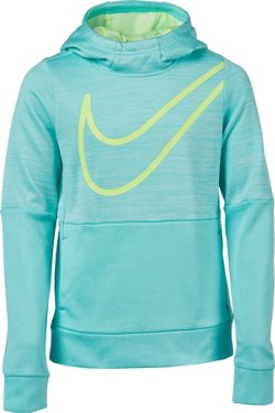 Nike Girls' Therma Graphic Training Pullover Hoodie