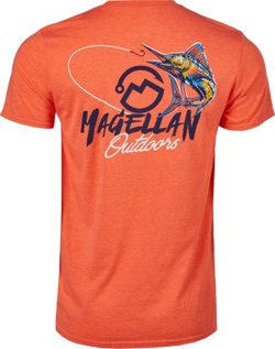 Magellan Outdoors Men's Fishing Line Marlin Graphic T-shirt