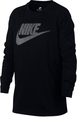 Nike Boys' Futura Hoopfly Long Sleeve T-shirt
