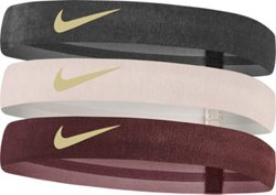 Nike Women's Velvet Wide Headbands 3-Pack