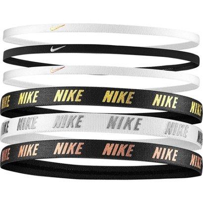 Nike Women s Metallic Mixed Width Headbands 6-Pack  f41b35b90f4