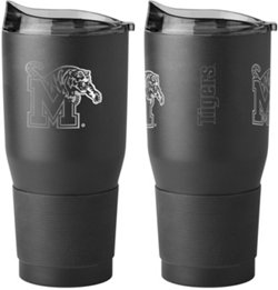 Memphis University 30 oz Premium Powder-Coat Ultra Tumbler