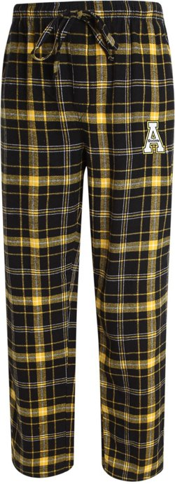 Concepts Sport Men's Appalachian State University Ultimate Flannel Sleep Pants