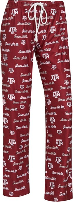 Concepts Sport Women's Texas A&M University Recover Pants