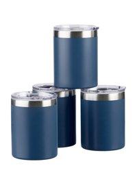4-Pack Wellness 10 oz Steel Tumblers
