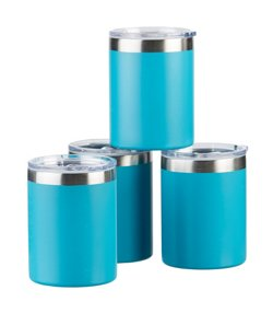 Wellness 10 oz Steel Tumblers 4-Pack
