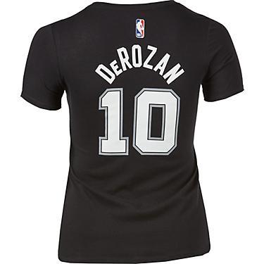 wholesale dealer 15d41 dce41 Nike Women's San Antonio Spurs DeMar DeRozan 10 Name And Number Dri-FIT  T-shirt
