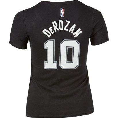 600869ac008 Nike Women s San Antonio Spurs DeMar DeRozan 10 Name And Number Dri ...
