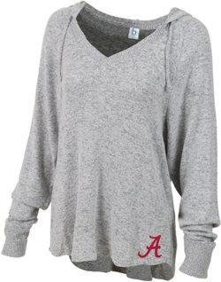Women's University of Alabama Plus Size Cuddle V-neck Hoodie