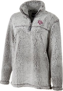 Boxercraft Women's Texas A&M University Plus Size Sherpa Pullover