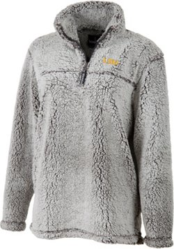 Women's Louisiana State University Plus Size Sherpa Pullover