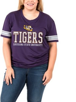 Boxercraft Women's Louisiana State University Game Time Plus Size T-shirt