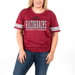 Women's University of Arkansas Game Time Plus Size T-shirt