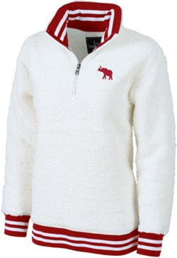 Boxercraft Women's University of Alabama Varsity Sherpa Pullover