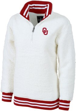 Women's University of Oklahoma Varsity Sherpa Pullover