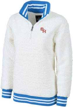 Women's Sam Houston State University Varsity Sherpa Pullover