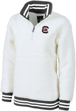 Women's University of South Carolina Varsity Sherpa Pullover