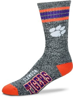 For Bare Feet Clemson University Got Marbled Socks