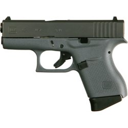 Glock G43 Gray/BLK 9mm Sub-Compact 6-Round Pistol