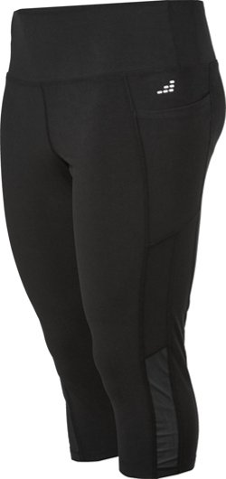 Women's Plus Size Pocket Capri Pants