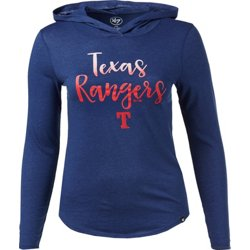 Texas Rangers Women's Club Hooded T-shirt
