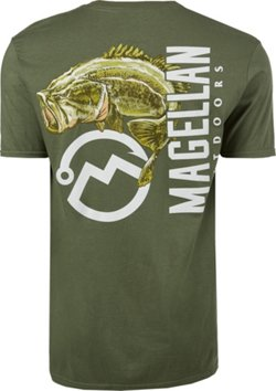 Magellan Outdoors Men's Big Mouth Bass T-shirt