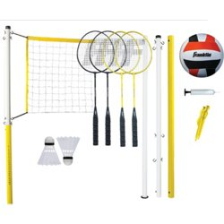 Family Volleyball and Badminton Set