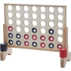 Jumbo Connect 4 In A Row Game Set