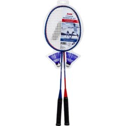 Red, White and Blue 2-Player Badminton Set