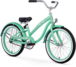 Firmstrong Girls' Bella Classic 20 in Beach Cruiser Bicycle