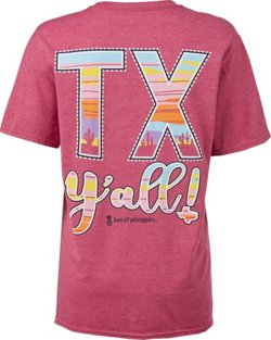 Love & Pineapples Women's TX Y'all T-shirt