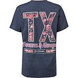 Love & Pineapples Women's TX Always and Forever T-shirt