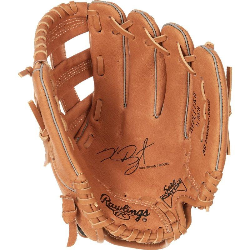 Rawlings Kids' Mark of a Pro Lite Kris Bryant 11 in Infield Baseball Glove Beige - Softball Baseball Gloves And Mitts at Academy Sports