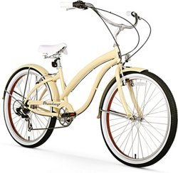 Firmstrong Women's Bella Fashionista 26 in 7-Speed Cruiser Bicycle
