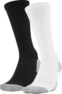 Under Armour HeatGear Tech Crew Socks 2 Pack